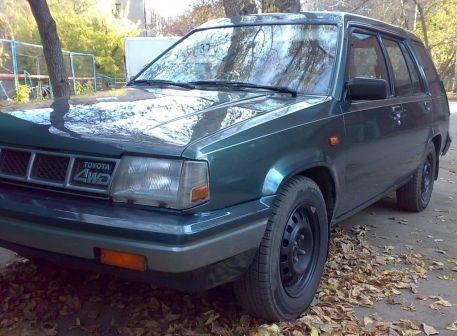 Toyota Tercel 1987 - отзыв владельца