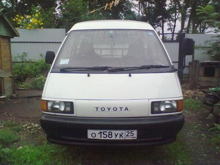 Toyota Town Ace 1991 - отзыв владельца