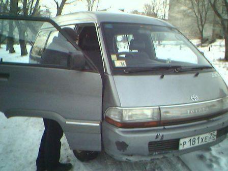 Toyota Town Ace 1990 - отзыв владельца