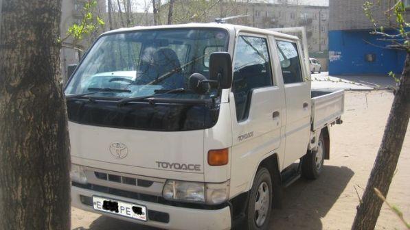 Toyota ToyoAce 2001 - отзыв владельца