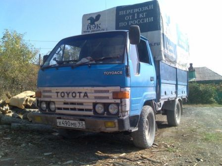 Toyota ToyoAce 1986 - отзыв владельца