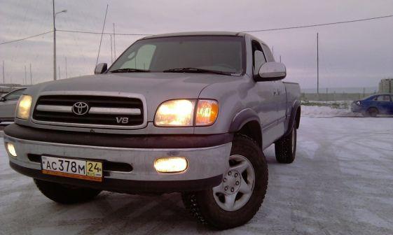 Toyota Tundra 2001 - отзыв владельца
