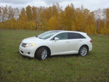 Toyota Venza 2012 - отзыв владельца