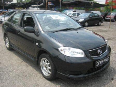 Toyota Vios 2004 - отзыв владельца