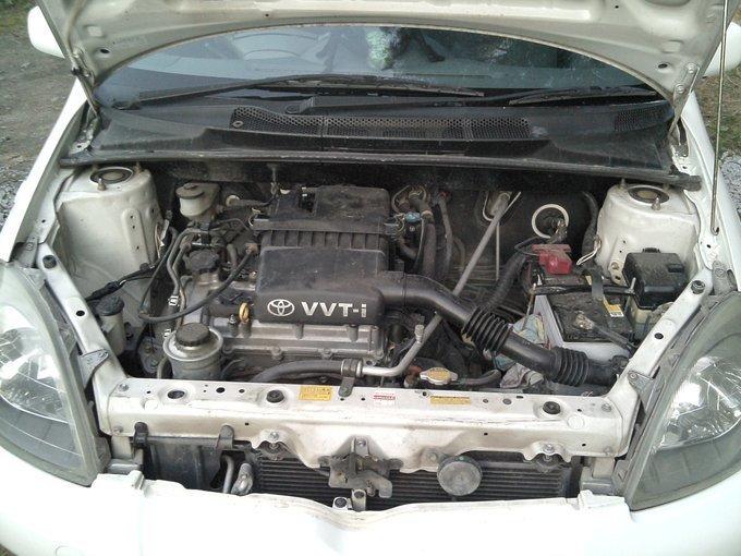toyota vitz помыл двигатель не набирает обороты