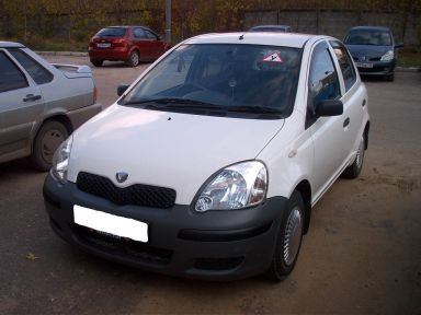 Toyota Vitz, 2002