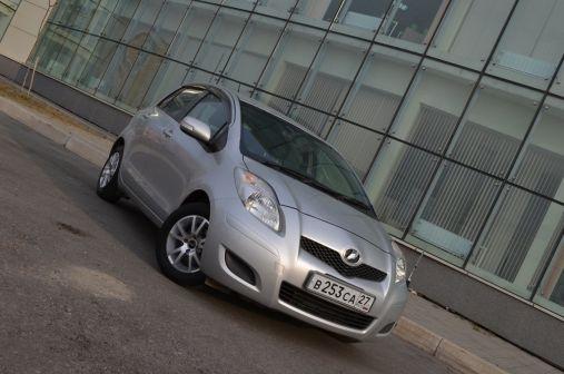 Toyota Vitz 2008 - отзыв владельца