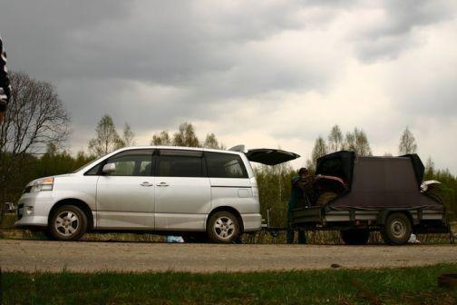 Toyota Voxy 2001 - отзыв владельца