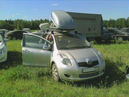 Toyota Yaris 2006 - отзыв владельца