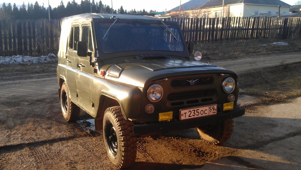 UAZ 2018: photos, characteristics and reviews of experts