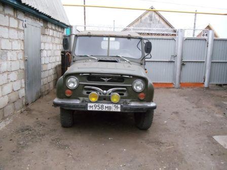 УАЗ 469 1987 - отзыв владельца