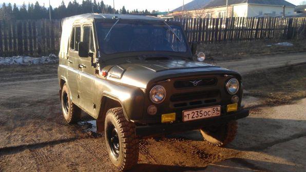 УАЗ 469 1991 - отзыв владельца