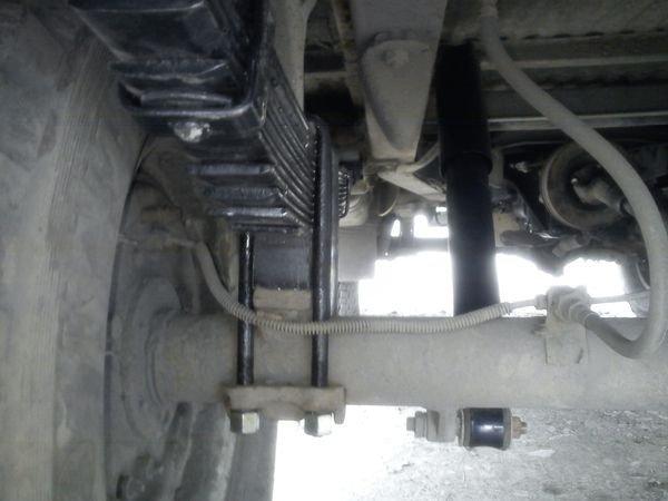 Переборка заднего моста и новые рессоры — бортжурнал уаз 31514.