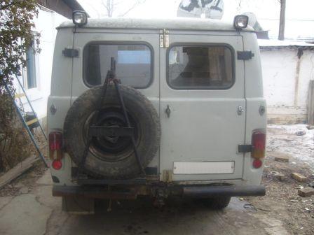 УАЗ Буханка 1998 - отзыв владельца