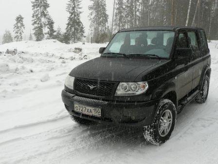 УАЗ Патриот 2009 - отзыв владельца