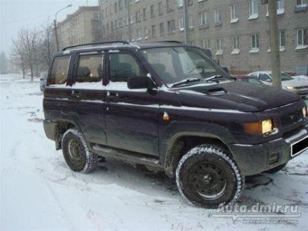 УАЗ Патриот 1999 - отзыв владельца