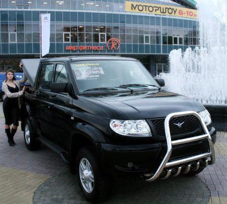 УАЗ Пикап 2008 - отзыв владельца