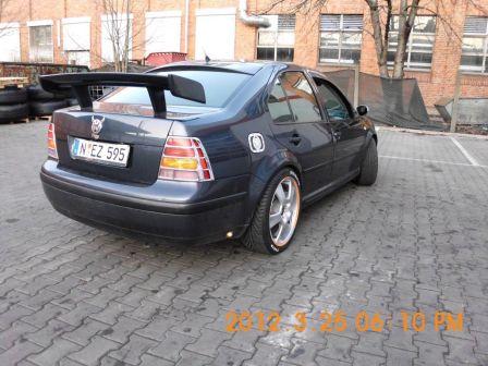 Volkswagen Bora 2002 - отзыв владельца