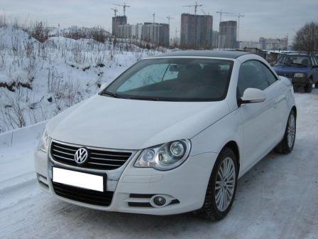 Volkswagen Eos 2008 - отзыв владельца