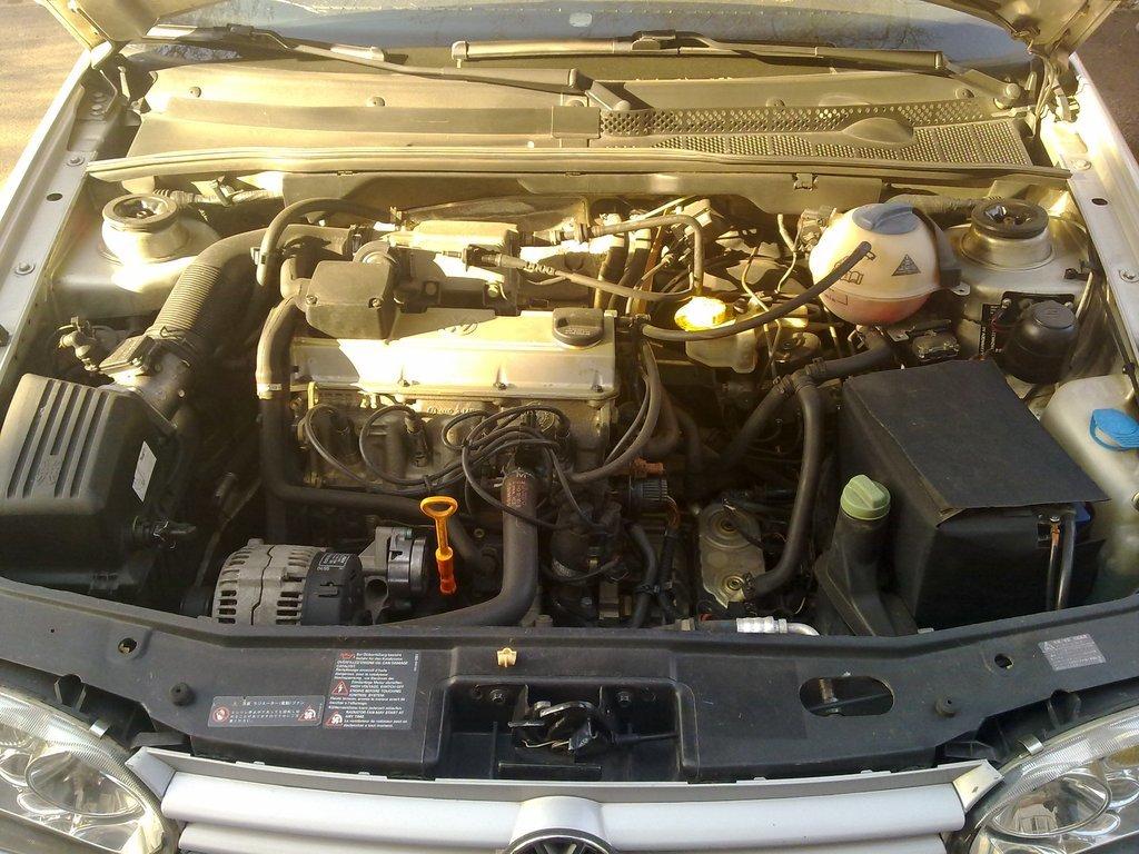 volkswagen-vento 95г 2.0л двигатель ady система зажигания