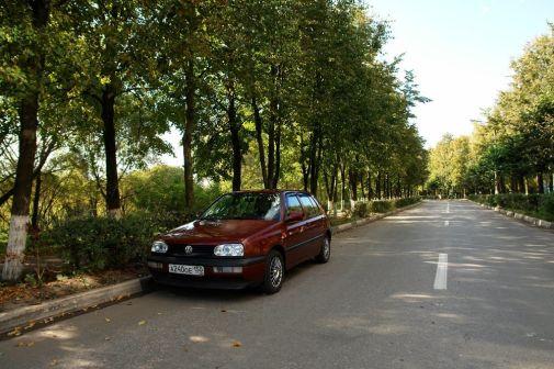 Volkswagen Golf 1995 - отзыв владельца