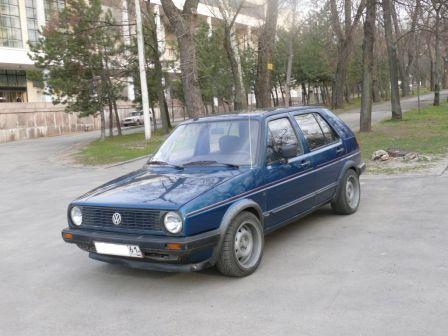 Volkswagen Golf 1984 - отзыв владельца