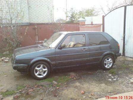 Volkswagen Golf 1987 - отзыв владельца