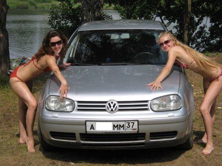 Volkswagen Golf 2003 - отзыв владельца