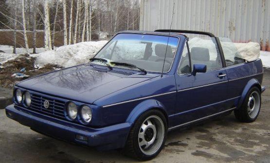 Volkswagen Golf 1985 - отзыв владельца