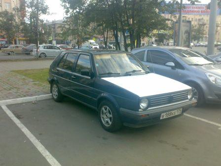 Volkswagen Golf 1989 - отзыв владельца