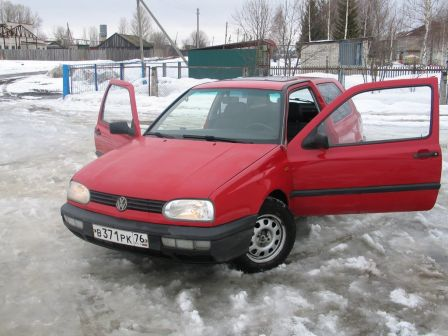 Volkswagen Golf 1992 - отзыв владельца