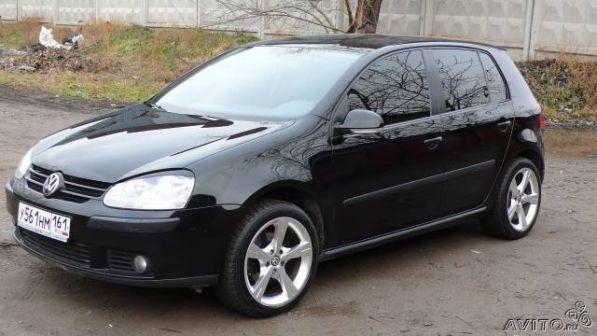 Volkswagen Golf 2005 - отзыв владельца