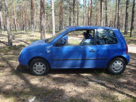 Volkswagen Lupo 2000 - отзыв владельца