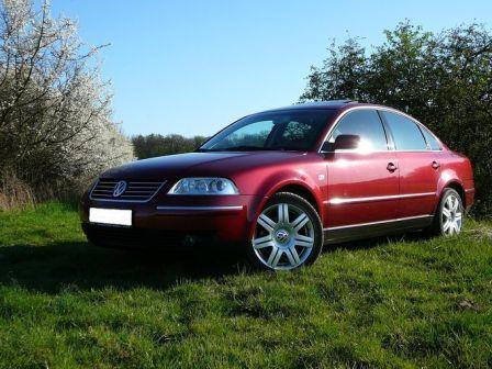 Volkswagen Passat 2001 - отзыв владельца