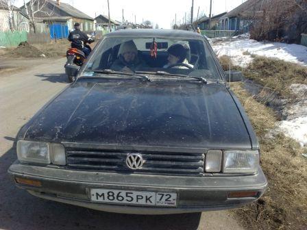 Volkswagen Passat 1987 - отзыв владельца