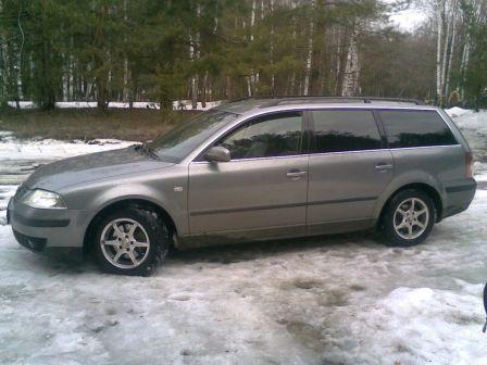 Volkswagen Passat 2003 - отзыв владельца