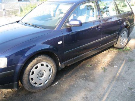 Volkswagen Passat 2000 - отзыв владельца