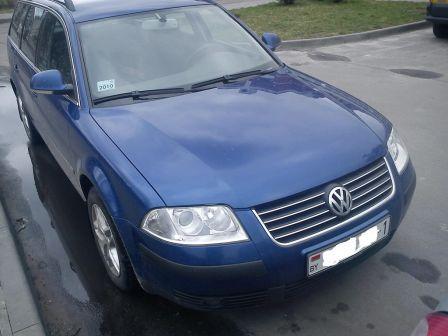 Volkswagen Passat 2004 - отзыв владельца