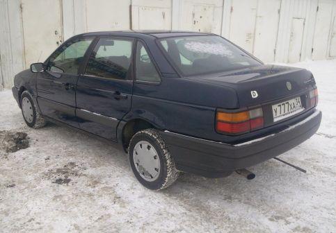 Volkswagen Passat 1990 - отзыв владельца