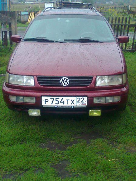 Volkswagen Passat 1994 - отзыв владельца