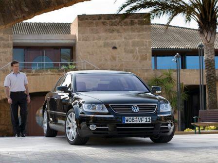 Volkswagen Phaeton 2004 - отзыв владельца