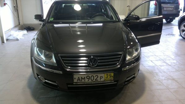 Volkswagen Phaeton 2009 - отзыв владельца