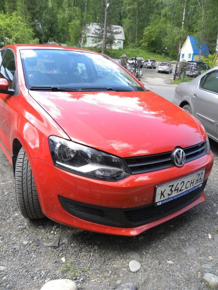 Volkswagen Polo 2009 - отзыв владельца
