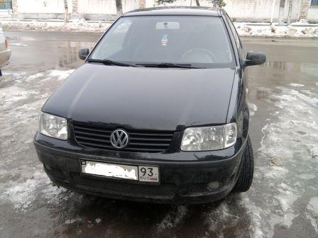Volkswagen Polo 2001 - отзыв владельца