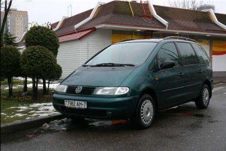 Volkswagen Sharan 1997 - отзыв владельца