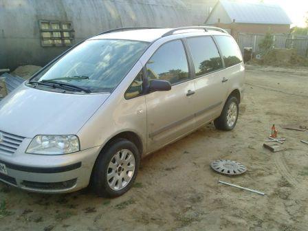 Volkswagen Sharan 2003 - отзыв владельца