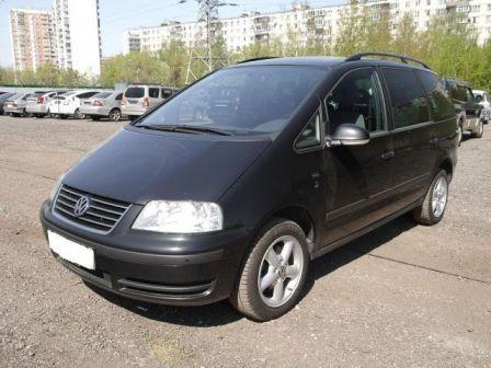Volkswagen Sharan 2007 - отзыв владельца