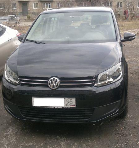 Volkswagen Touran 2012 - отзыв владельца