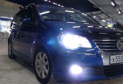 Volkswagen Touran 2007 - отзыв владельца