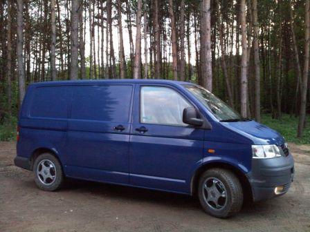 Volkswagen Transporter 2004 - отзыв владельца